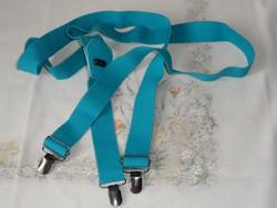 Türkiz színű gumis nadrágtartó