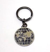 Ezüst földgömbös kulcstartó (ZAL-Ag88793)