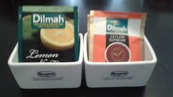 Ronnefeldt tea filteres porcelán tároló, teás kellék