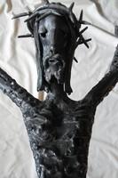 Murai Jenő: CORPUS, egyedi, nem sokszorosítható, nagy méretű hegesztett vas szobor