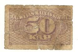 50 kap kapeikas 1920 Lettország