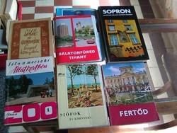 Útikönyvek, városokról
