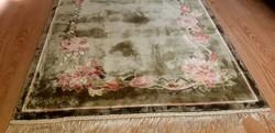 Csodás Kézi Selyem Perzsa szőnyeg