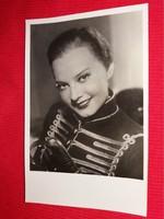 Antik 1942 Szeleczky Zita portrés képeslap gyönyörű postatiszta gyűjtői állapotban  Áldor fotó