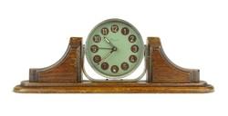 1B506 Régi Danuvia art deco bútoróra ébresztőóra 30 cm