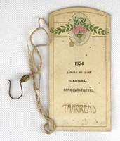 1B499 Antik táncrend 1924 Gazdabál