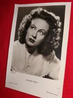 Antik 1942 Höhn Karola portrés képeslap gyönyörű postatiszta  gyűjtői állapotban