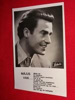 Antik 1942 Sárdy János portrés képeslap gyönyörű postatiszta gyűjtői állapotban Várkonyi studio fotó