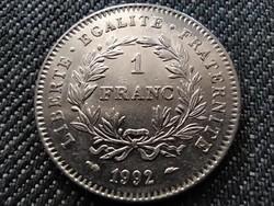 Franciaország 200 éves az Első köztársaság 1 frank 1992 (id29877)
