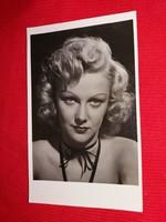 Antik 1942 Goll Bea portrés képeslap gyönyörű postatiszta gyűjtői állapotban a képek szerint