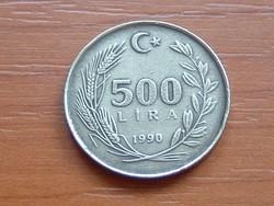 TÖRÖKORSZÁG 500 LÍRA 1990 81-63% Réz, 9-27% Ólom, 10% Alumínium #