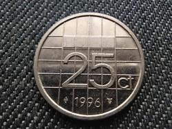 Hollandia Beatrix (1980-2013) 25 Cent 1996 (id30993)
