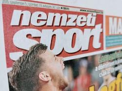 2011 9 24  /    Címlap: Labdarúgás Videoton - Zte  /  Nemzeti SPORT  /  Ssz.:  10160