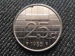 Hollandia Beatrix (1980-2013) 25 Cent 1985 (id30976)