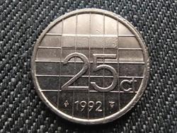 Hollandia Beatrix (1980-2013) 25 Cent 1992 (id30990)