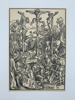 Albrecht Dürer - Calvary- vintage nyomat