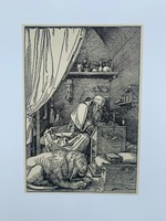 Albrecht Dürer - St. Jerome in his Cell - vintage nyomat
