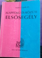Andics: Alapfokú és közúti elsősegély Vöröskereszt kiadvány 1993., ajánljon!