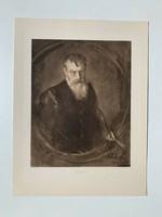 Franz von Lenbach önarckép (1905-ös nyomat)