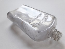 Régi üveg Dreher Antal S.R.T. Kőbánya italos szeszfőzdés lapos palack