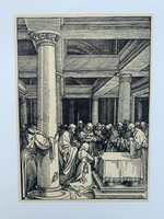 Albrecht Dürer - The Presentation of the Christ in the Temple - vintage nyomat