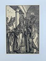 Albrecht Dürer - Sts. Nicholas, Ultrich and Erasmus - vintage nyomat