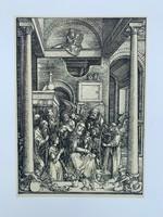 Albrecht Dürer - Glorification of the Virgin - vintage nyomat