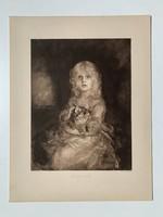 Franz von Lendbach lánya (1905-ös nyomat)