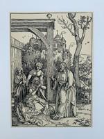 Albrecht Dürer - Christ Taking Leave of his Mother - vintage nyomat