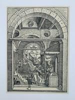 Albrecht Dürer - The Annunciation- vintage nyomat