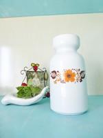 Retro,vintage,Különleges formájú Alföldi váza,lakás dekoráció