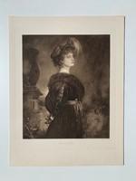 Egy hölgy portréja (1905-ös nyomat)