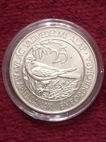 Világ Vadvédelmi Alap Alapításának 25.Évfordulójára, 50 Forint 1988 (BU), kapszulában
