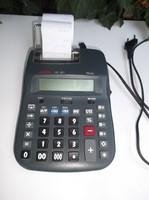 AURORA PR640  számológép - két színnel nyomtat - ez a funkció kikapcsolható  24 x 16 x 5 cm