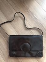 Vintage valódi bőr táska