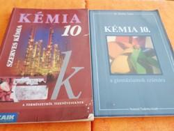 Kémia tankönyvek: Kémia 10 Szerves kémia, Kémia a gimnáziumok számára