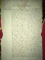 Kis Komárom/Komárváros. 1814-1815!Turkovics Mátyás halálával kapcsolatos végrendelet és egyéb irat