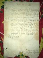 Galambok /1759. november 7. Tekintetes Nemes vármegye... Legkisebb alázatos szolgái Galamboki lakoso