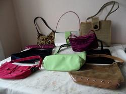 Női, lányka táska, ridikül csomag ( 10 db.)