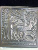 Régi Rusói Karcag kerámia falikép