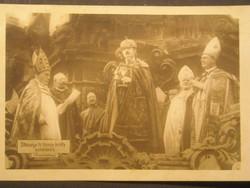 IV.Károly megkoronázása
