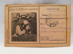 1915 Tábori posta Levelező-lap