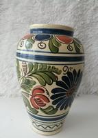 Korondi kerámia váza (26 cm)