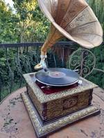 Meseszép Négyszögletű gramofon