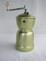 Retro fém kávédaráló kézi daráló