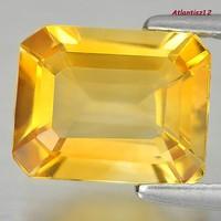 Genuine 100% natural golden yellow citrine gemstone 2.73ct (vvs)! Value: HUF 32,800!