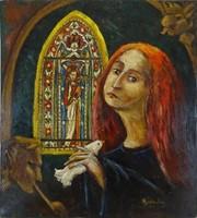 1B580 Regdon Irén : Oltár előtt 1976