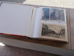 Mohács, album cca 100 darab képeslap