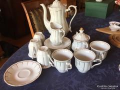 Walbrzych lengyel antik porcelán kávés, ritkaság