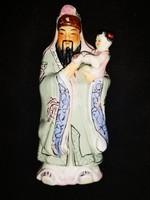 Kínai figura kislánnyal